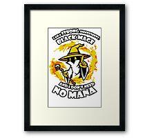 Black Mage Funny TShirt Epic T-shirt Humor Tees Cool Tee Framed Print