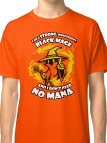 Black Mage Funny TShirt Epic T-shirt Humor Tees Cool Tee Classic T-Shirt