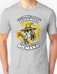 Black Mage Funny TShirt Epic T-shirt Humor Tees Cool Tee Unisex T-Shirt