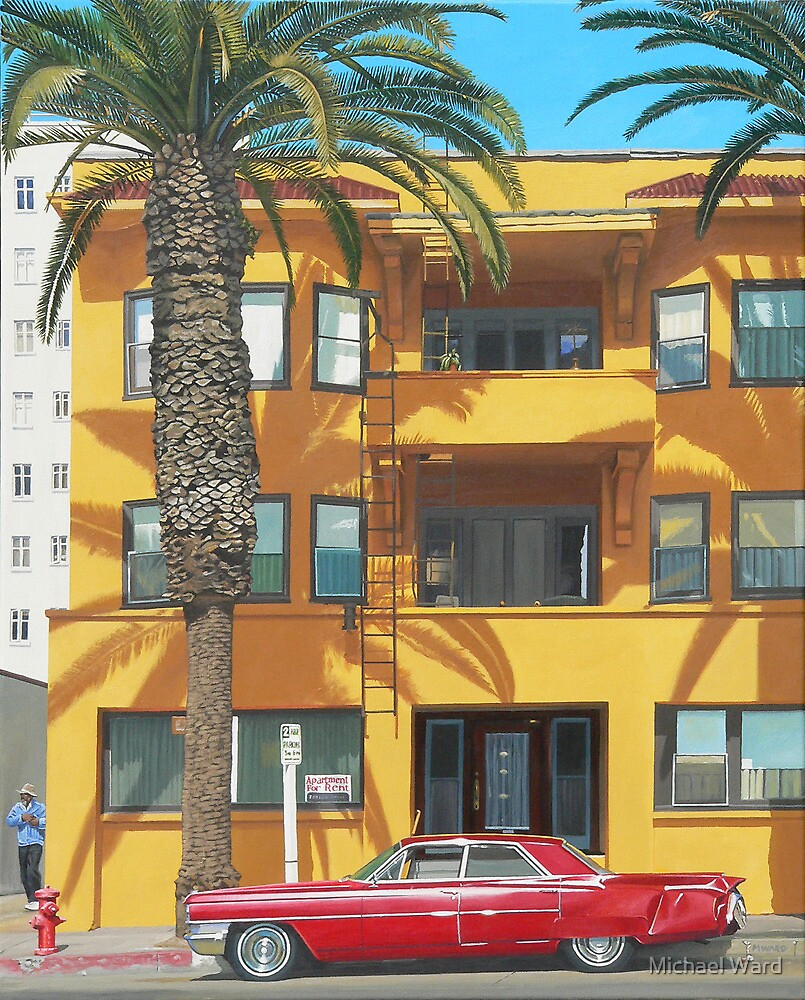 Red Caddy Apartments by Michael Ward