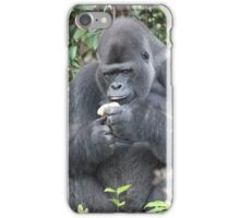 Djala The Silverback Gorilla #1 iPhone Case/Skin