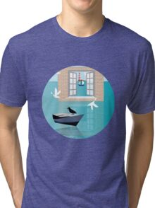 Sea Window Tri-blend T-Shirt