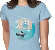 Sea Window Womens Fitted T-Shirt