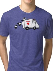 Blood Drive Vampires Funny TShirt Epic T-shirt Humor Tees Cool Tee Tri-blend T-Shirt