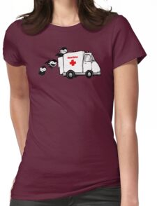 Blood Drive Vampires Funny TShirt Epic T-shirt Humor Tees Cool Tee Womens Fitted T-Shirt