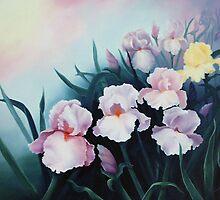 Misty Iris Morning by jillcsmith