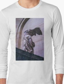 Winged Victory of Samothrace Long Sleeve T-Shirt