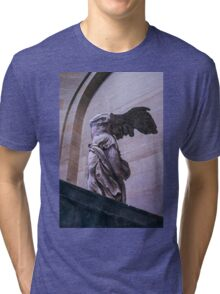 Winged Victory of Samothrace Tri-blend T-Shirt