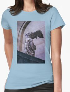 Winged Victory of Samothrace Womens Fitted T-Shirt
