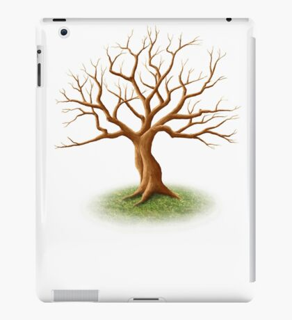 Wedding Guest Signature Tree Memento iPad Case/Skin