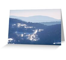 The Catskill Mountains Greeting Card