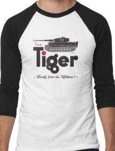 TIGER TANK Men's Baseball ¾ T-Shirt