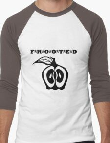 Frooted: Black Men's Baseball ¾ T-Shirt