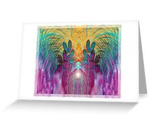 Aliens among us Greeting Card