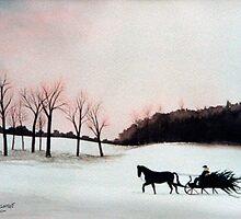 Winter Sleigh Ride by jillcsmith