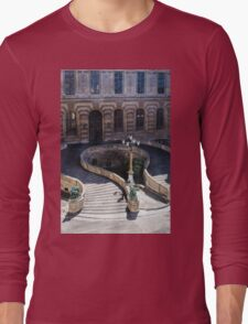 Louvre Staircase Long Sleeve T-Shirt