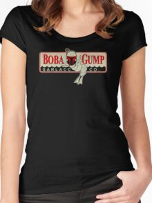 Boba Gump Funny TShirt Epic T-shirt Humor Tees Cool Tee Women's Fitted Scoop T-Shirt