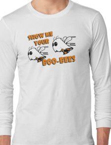 Boo Bees Funny TShirt Epic T-shirt Humor Tees Cool Tee Long Sleeve T-Shirt