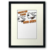 Boo Bees Funny TShirt Epic T-shirt Humor Tees Cool Tee Framed Print
