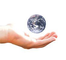 Earth in my hand by BrandonHot