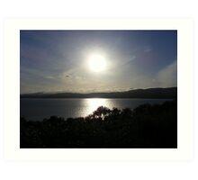 Donegal Sunset Art Print