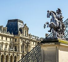 Louvre Horse Statue by PatiDesigns