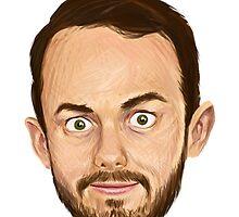 Jack's SFW Face by Joshua Niczynski