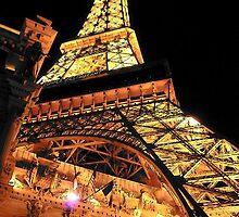 Eiffel Tower - Paris Casino - LVN by John Schneider
