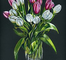 Tulips by Valentina Gatewood