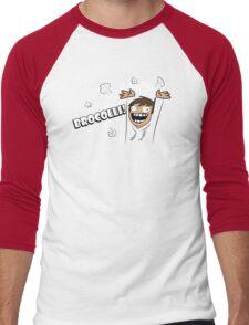 Broccoli Funny TShirt Epic T-shirt Humor Tees Cool Tee Men's Baseball ¾ T-Shirt