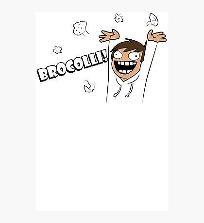 Broccoli Funny TShirt Epic T-shirt Humor Tees Cool Tee Photographic Print
