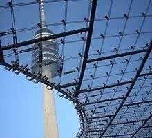 Olympic Stadium Munich, Germany by Gina Livingston