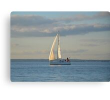 Sunlit Sails Canvas Print