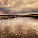 Staithes Harbour. by stanegg