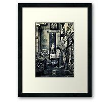 Urban Madonna  Framed Print