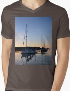 Tranquil Anchorage Mens V-Neck T-Shirt
