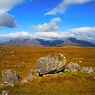 Twelve Bens Mountains. Connemara.Ireland by EUNAN SWEENEY