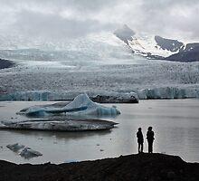 Glacier lagoon of Fjallsjokull - Vatnajokull glacier in Iceland 2 by Marketa Kalvachova