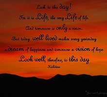 Look to this day! by Jan  Tribe