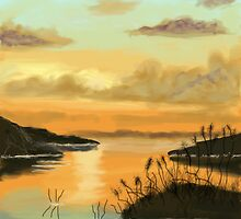 Peaceful Haven after Bob Ross by MayWebb