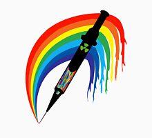 Rainbow Veins  Mens V-Neck T-Shirt