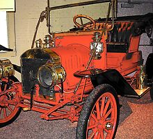 Cars as art: 1910 Maxwell by John Schneider