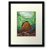 Ant and Hill Framed Print