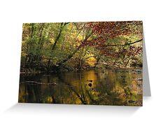 Late Autumn in Knaresborough Greeting Card