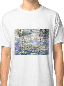 Monet's lilies at Giverny Classic T-Shirt