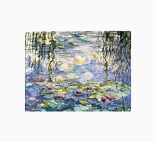 Monet's lilies at Giverny Womens Fitted T-Shirt