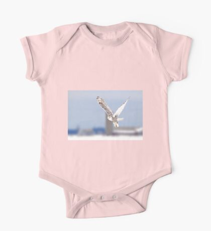 Along a country road - Snowy Owl One Piece - Short Sleeve