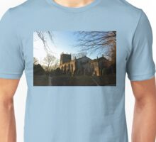 Medieval Church In England Unisex T-Shirt