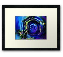 Vortex Lake Framed Print