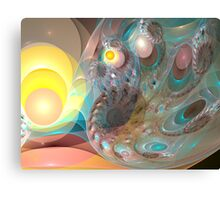 All Your Eggs Canvas Print